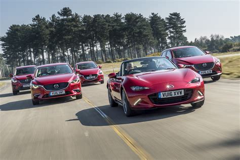 mazda 2016 range mazda s stylish range brightens grey skies at the 2016