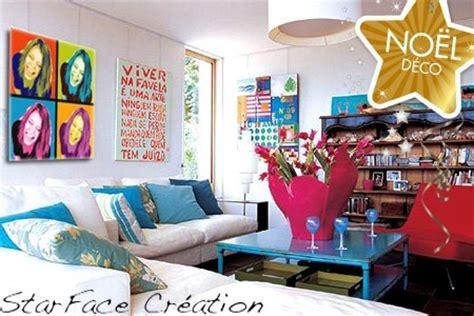 Exceptionnel Art Et Decoration Salle De Bain #7: photo-decoration-deco-salon-pop-art-8.jpg