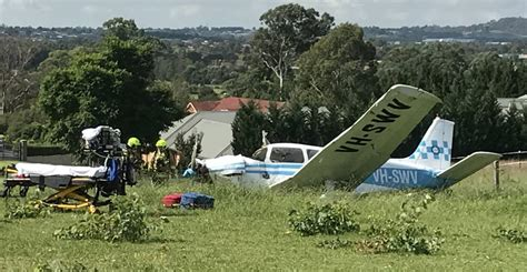 backyard airplane backyard plane crash a bit of a shock newcastle herald