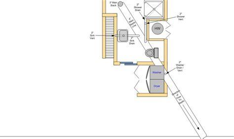 basement bathroom plumbing layout basement bathroom plumbing layout plumbing diy home improvement diychatroom