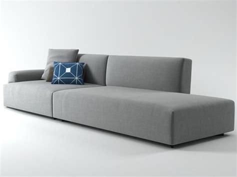 low wide arm sofa soho low arm sofa system 3d model poliform