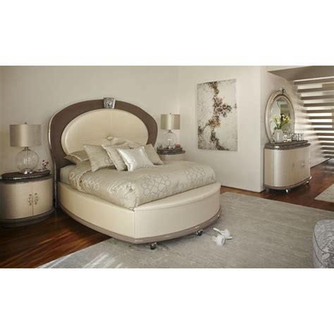 michael amini bedroom set aico michael amini overture upholstered bedroom set for from 8 053 00 to 10 581 00 in bedroom