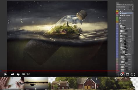 como crear foto montaje de luto video que nos muestra como hacer un fotomontaje con