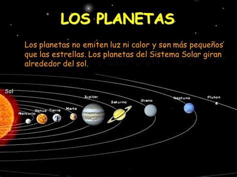 cuales son los planetas que giran alrededor del sol unidad did 193 ctica 8 el espacio exterior ppt video online