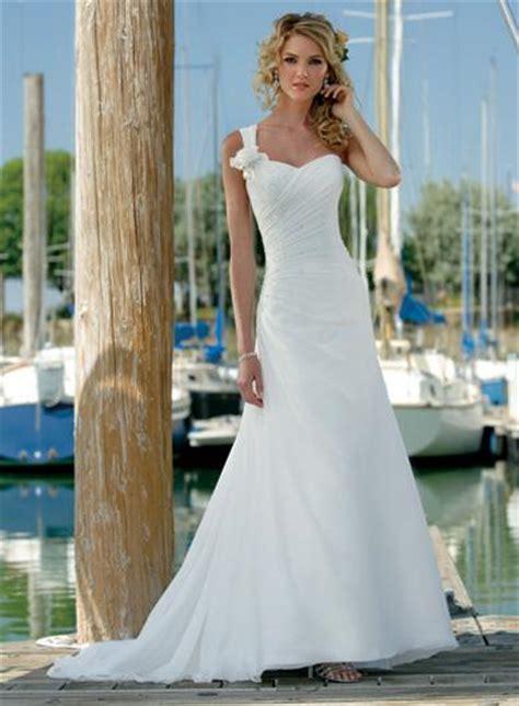 one shoulder destination wedding dresses zoombridal com