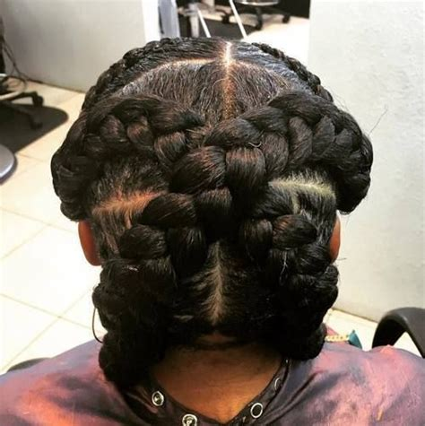 one goddess braid cebter of head 40 goddess braids hairstyles you must try