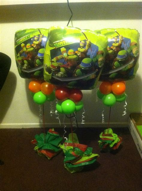 tmnt centerpieces ideas centerpieces