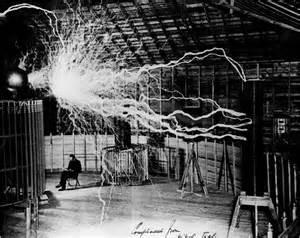 Tesla In His Lab Nikola Tesla S Wardenclyffe Tower And Laboratory The