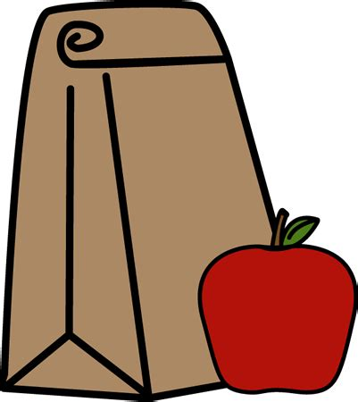 lunch clipart school lunch bag clip school lunch bag image