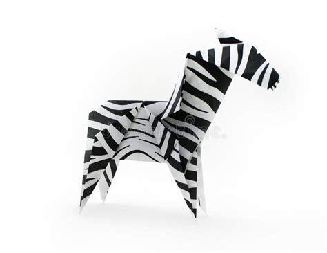 Origami Zebra - zebra stock images image 31197104