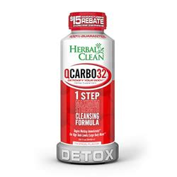 Does Detox Work For Swabs by Herbal Clean Qcarbo32 Tropical Flavor Best 4 Test