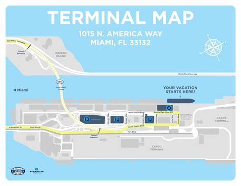 Car Rental Port Of Miami Cruise Terminal by Port Of Miami The Kruise