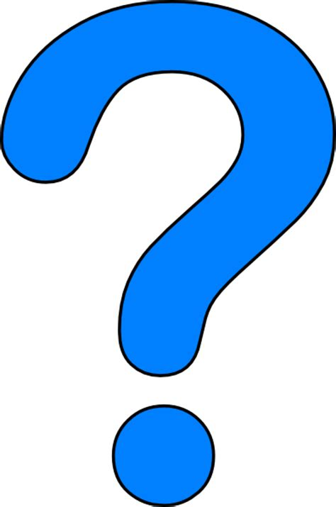 large printable question mark question mark clip art