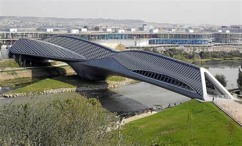 pabellon zaragoza el pabell 243 n puente de zaraoza acoger 225 2 exposiciones este a 241 o