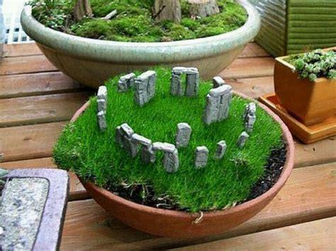 Moss Garden Ideas Mini Stonehedge Moss Garden Moss Dish Gardens