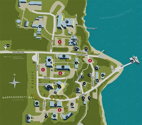 uri map uri narragansett bay cus map josh wood design illustration painting