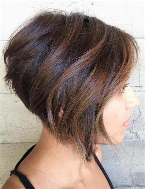 bob haircuts and highlights 40 east short layered hairstyles