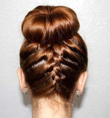donut with a braid around it use a hair donut to help you make this braided sock bun