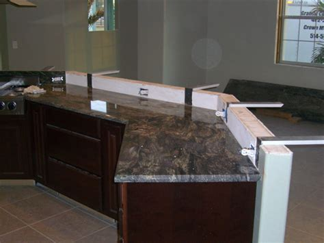 bar top support granite overhang support guidelines marble granite caesarstone cantilever harmony