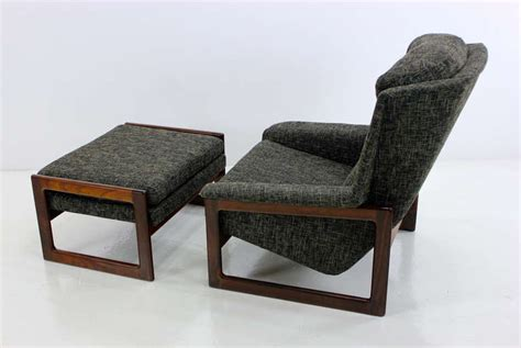 mid century modern armchair mid century modern armchair lounge chair and ottoman by