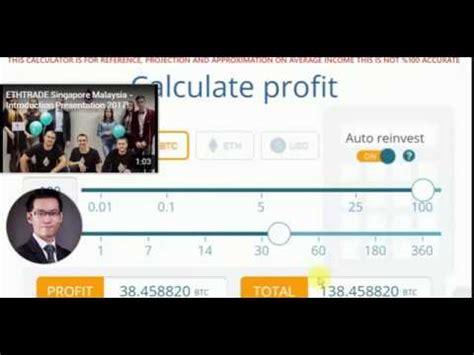 bitcoin earning tutorial btc ethtrade best bitcoin eth usd profit calculator