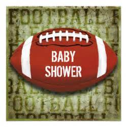 couples football baby shower green grunge invites zazzle