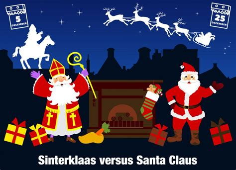 Santa Claus Sinterklas sinterklaas and santa claus what s the difference