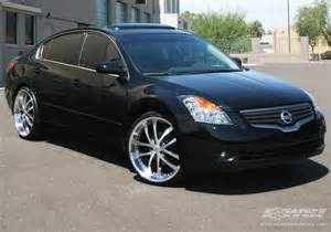 2008 Nissan Altima 22 Inch Rims 2007 Nissan Altima With 22 Quot Axis Exe Convex In Machined