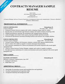 contracts manager resume sample law resume samples