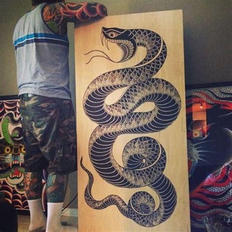 viper snake tattoo designs snake by chris anthon snake