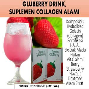 Gluberry Collagen Drink 4jovem gluberry