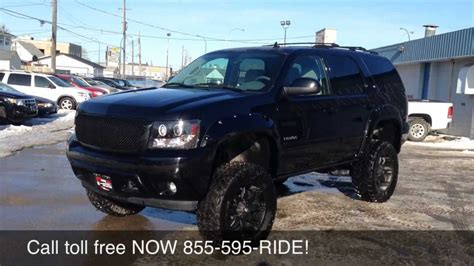 Modification License Winnipeg by Custom Lifted 2012 Chevrolet Tahoe Lt Ride Time