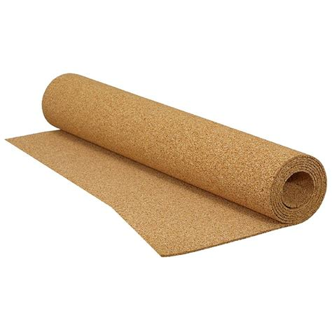 qep 200 sq ft 4 ft x 50 ft x 1 8 in cork underlayment