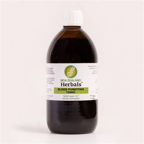 Detox Pills Nz by Blood Purifying Tonic Nz Herbals