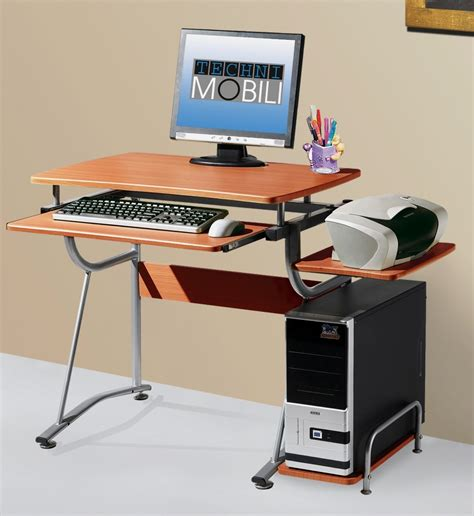 Compact Laptop Desk Techni Mobili Compact Computer Desk Minimalist Desk Design Ideas
