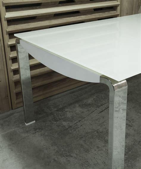tavoli in laminato tavolo allungabile con piano in vetro e allunga in