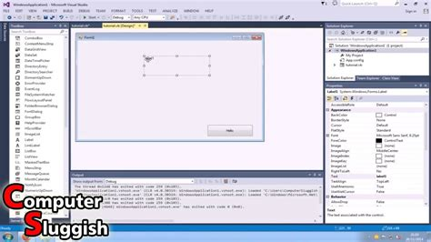 visual basic tutorial for beginners free visual basic 2013 tutorial for beginners part 2 basic