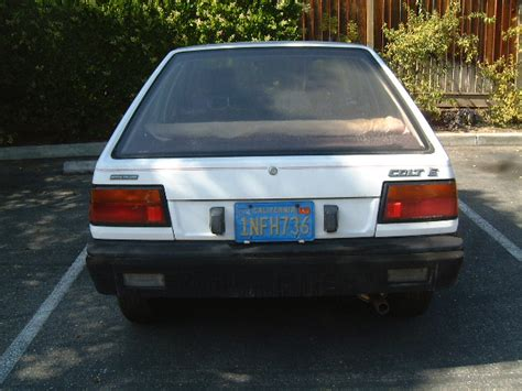 mitsubishi colt 1986 1986 plymouth colt information and photos momentcar