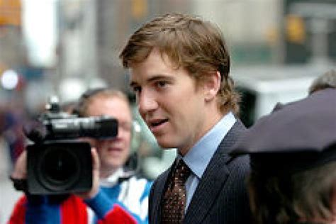 Eli Manning Sends Fiancee Abby Mcgrew Into Freezing Temps So He Wont Be Jinxed by Eli Manning Giants On The Town Ny