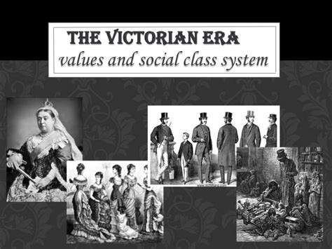 coulture country victorian times social class and values in the victorian era