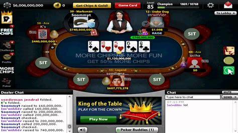 texas holdem poker  facebook  billion pot youtube