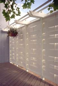 Privacy Wall For Patio deck privacy wall fencing pinterest decks backyards