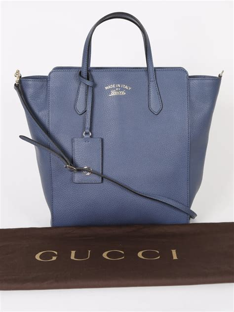 gucci swing bag gucci swing leather top handle bag blue luxury bags