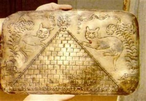 D 39 Secret Ppars Tablet Grenella 500 metal library found in tayos cave in ecuador page 1