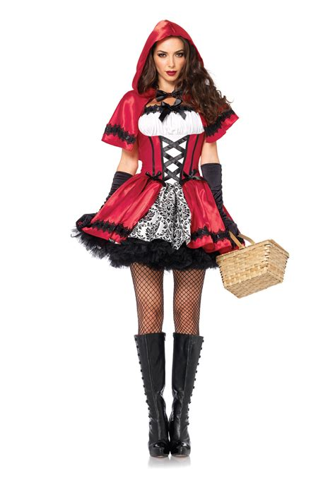 little red riding hood costumes adult kids red riding gothic red riding hood adult costume