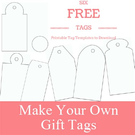 tags for gift bags template free printable gift tags make breaks