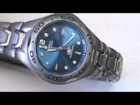 Fossil Blue Vintage vintage deal fossil blue titanium ti