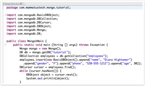 mongodb console introduction to mongodb for java php and python developers