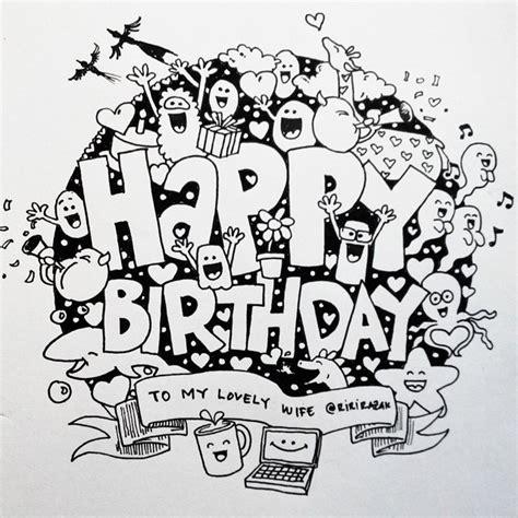 doodle selamat ulang tahun 8 cara membuat doodle simple lucu name 40 gambar