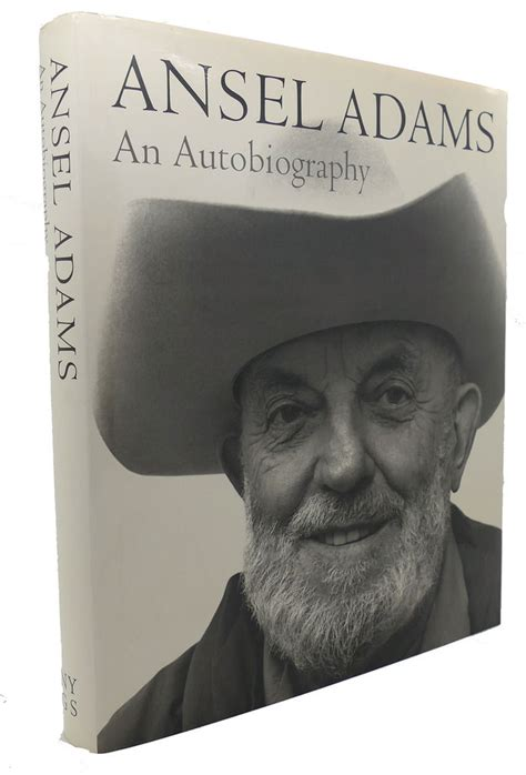 ansel adams an autobiography ansel adams an autobiography by mary street alinder first edition third printing 1986